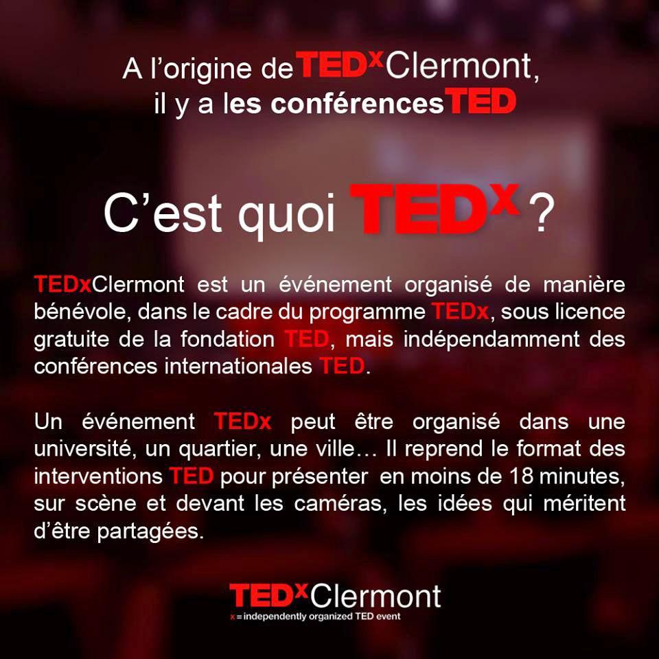 Jour de Crèche - Conférences TEDx à Clermont-Ferrand